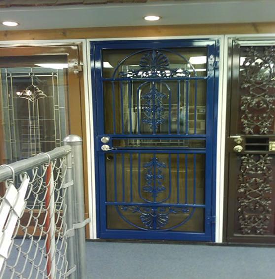 What kind of door is best for security